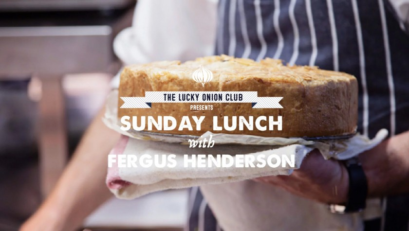 Sunday Lunch with Fergus Henderson